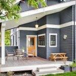 Exterior Paint Color Good Looking Wooden House Dark Gray Colors