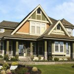 Exterior Wonderful House Painting Green Color Image