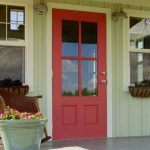 Exterior Wood Door Decorating Paint Colors Personalize House