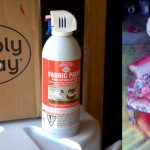 Fabric Spray Paint And List Project Ideas