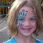 Face Paint Body Butterfly Painting Adult Www Glittermenyc