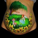 Fairytale Belly Paint Spinklesparks Bodypainting Bodypaint
