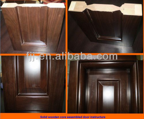 Fashion Simple Interior Paint Solid Wood Doors Design