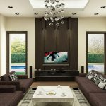 Fashionable Modern Brown Contemporary Paint Colors For Living Room