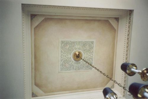 Faux Tray Ceiling Canvasworksneedlepoint Com