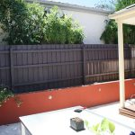 Fence Paint Want Wood Match The Trim Home