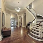 Foyer Curved Staircase
