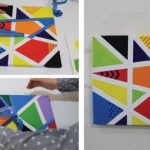 Fun Canvas Art For Such Easy And Rewarding Crafty Idea