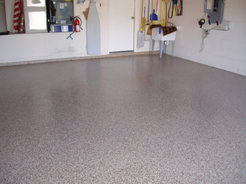Garage Floor Coating Features