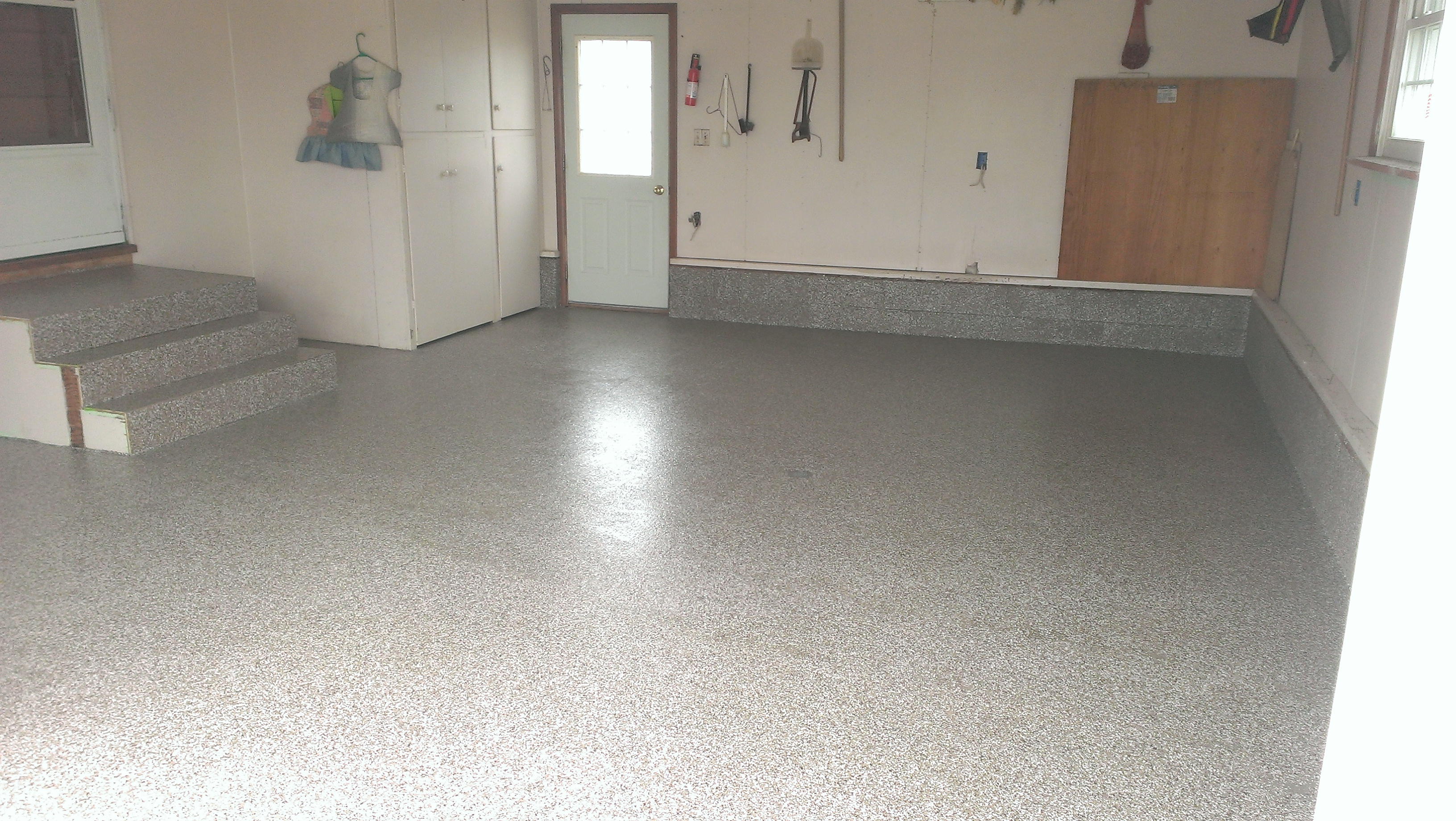 Garage Floor Epoxy Coating Repair