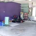 Garage Wall After Sherwin Williams Forget Not Paint Color