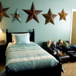 General Boys Room Paint Ideas Stars Blue