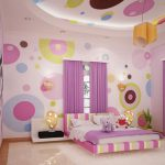 Girls Room Color Ideas Concept