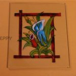 Glass Painting How Make Macaw Parrot