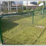 Green Chain Link Fence Paint For Home