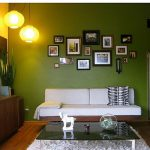 Green Wall Painting Ideas Room Decorating