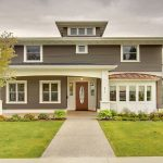 Grey Painted House Exterior Ideas For Instantly Improving Curb Appeal