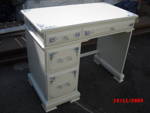 Hand Painted Desk Furniture