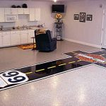 Harley Davidson Concept Floor Painting