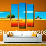 Home Decor Abstract Oil Font Painting Landscape