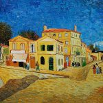 House Arles The Yellow Vincent Van Gogh Oil Painting