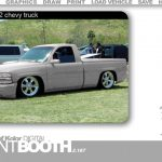 House Kolor Digital Paint Booth Chevy Truck