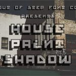 House Paint Shadow Font Free Out Step Company New
