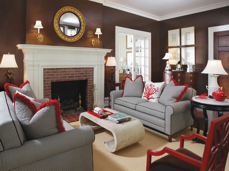 How Choose Paint Colors For Classic Living Room And Furniture Decor