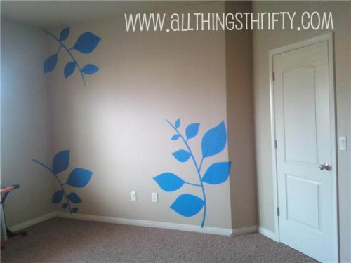 How Create Patterned Walls Painters Tape