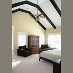 How Does Painting Horizontal Stripes Room Vaulted