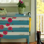 How Paint And Decoupage Dresser Page