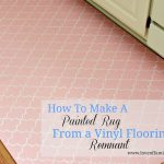 How Paint Rug Using Vinyl Flooring
