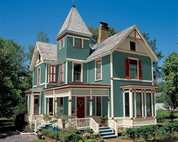 How Paint Your House Victorian Colors