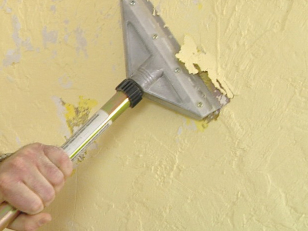 How Remove Texture From The Wall