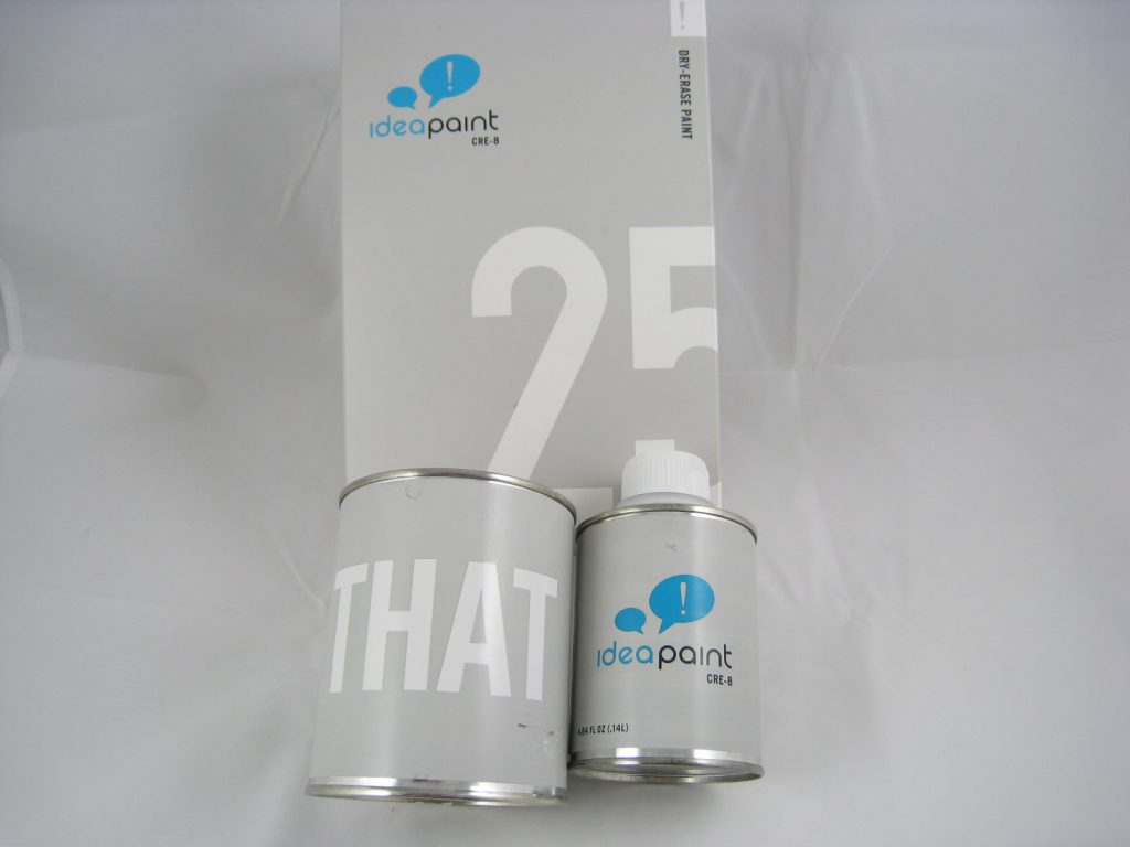 Ideapaint Dry Erase Paint Review And Giveaway