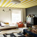 Imagery Above Other Parts Modern Ceiling Paint Design Ideas