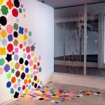 Interior Design Wall Painting Coloured Circles