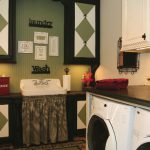 Laundry Room Paint Job Sink Skirt