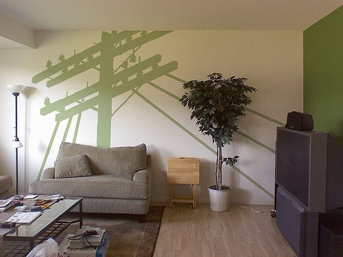 Main Living Room Paint And Design Model