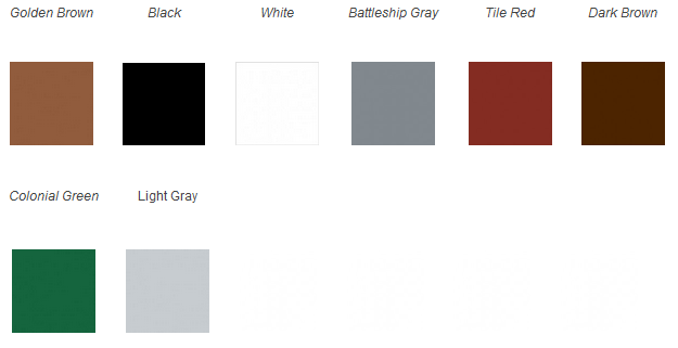 Majic Oil Based Floor Paint Color Chart