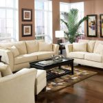 Marvellous Neutral Brown Paint Colors For Living Room White Sofa