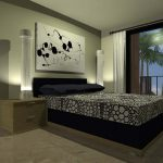 Master Bedroom Decorating Ideas Hanging Wall Painting