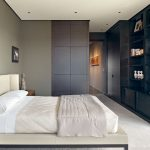 Mens Bedroom Ideas Finished Grey Indoor Wall Painting Image