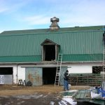 Metal Roof How Paint For Old Roofing House Open