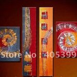 Modern Abstract Oil Font Painting Canvas House