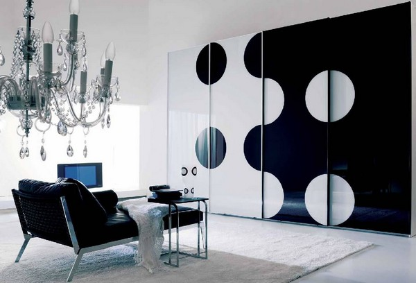 Modern Black And White Interior Painting Ideas