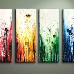 Modern Flower Oil Painting Canvas For Wall Decor Professionals