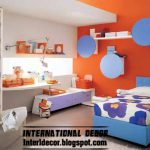 Modern Room Color Scheme Red Paint