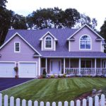 Modern Sweet Purple Painted House Pictures