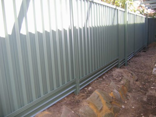 More Gaps Under Your Colorbond Fence Keep Dog And